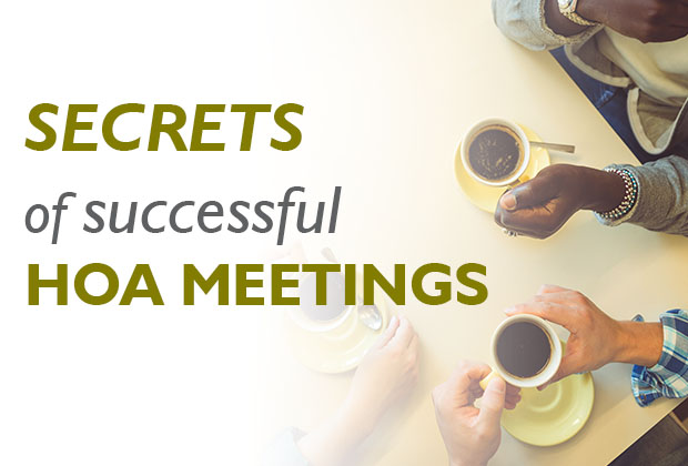 Secrets of Successful HOA Committees