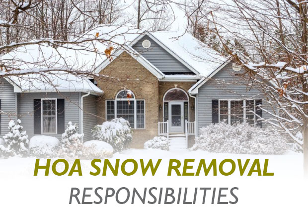 HOA Snow Removal Responsibilities
