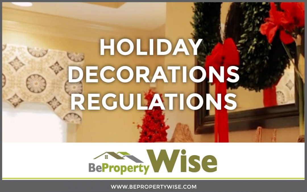 Holiday Decorations Regulations