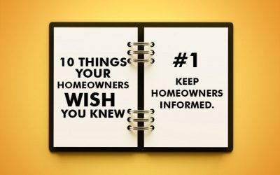 10 Things Your Homeowners Wish Your HOA Board Knew
