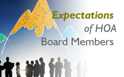 Expectations of HOA Board Members